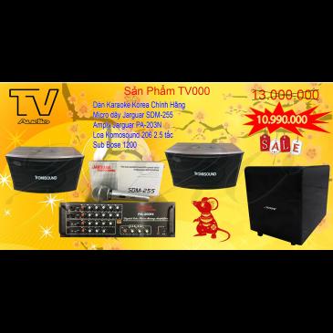 Combo Âm Thanh Karaoke Gia Đình TV000