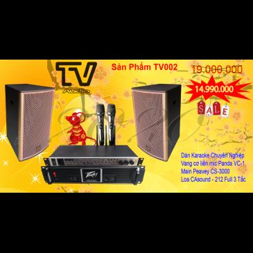 Combo Âm Thanh Karaoke Gia Đình TV002