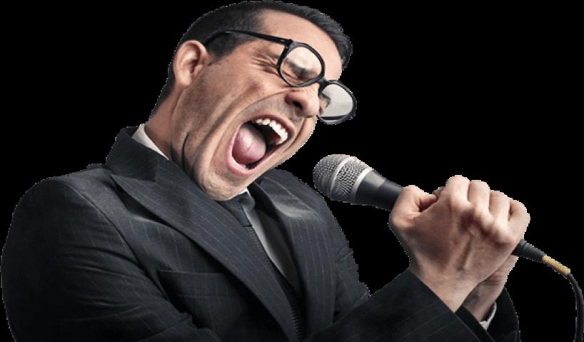 Vỡ phổi do hát karaoke với giọng quá cao